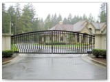 Luxury Home Security Gate