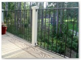 Exterior Wrought Iron Railing