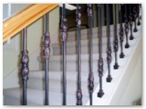 Decorative Ornamental Pickets Interior Stair Railing