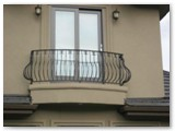 Powder Coated Steel Balcony Rail