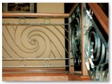 Patina Steel Interior Railings