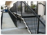 Closed Cantilever Ramp and Stairs
