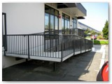 Cantilevered Ramp
