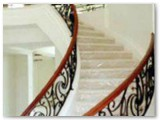 Street of Dreams Decorative Curved Stair Rail
