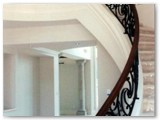 Luxury Home Decorative Curved Stair Rail