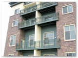 Tube Steel and Wire Mesh Railings
