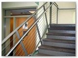 Double Top Cable Stair Rail